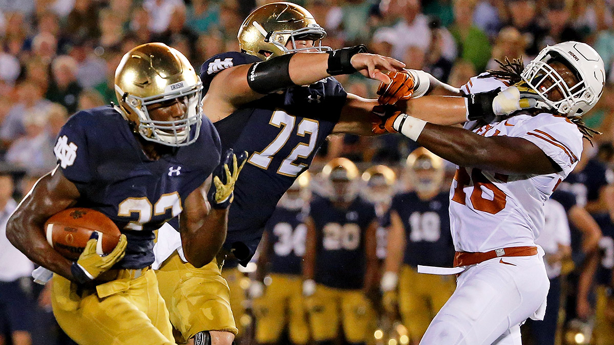Amid injuries and attrition, true freshman Josh Adams could help fill Notre Dame's tailback void.