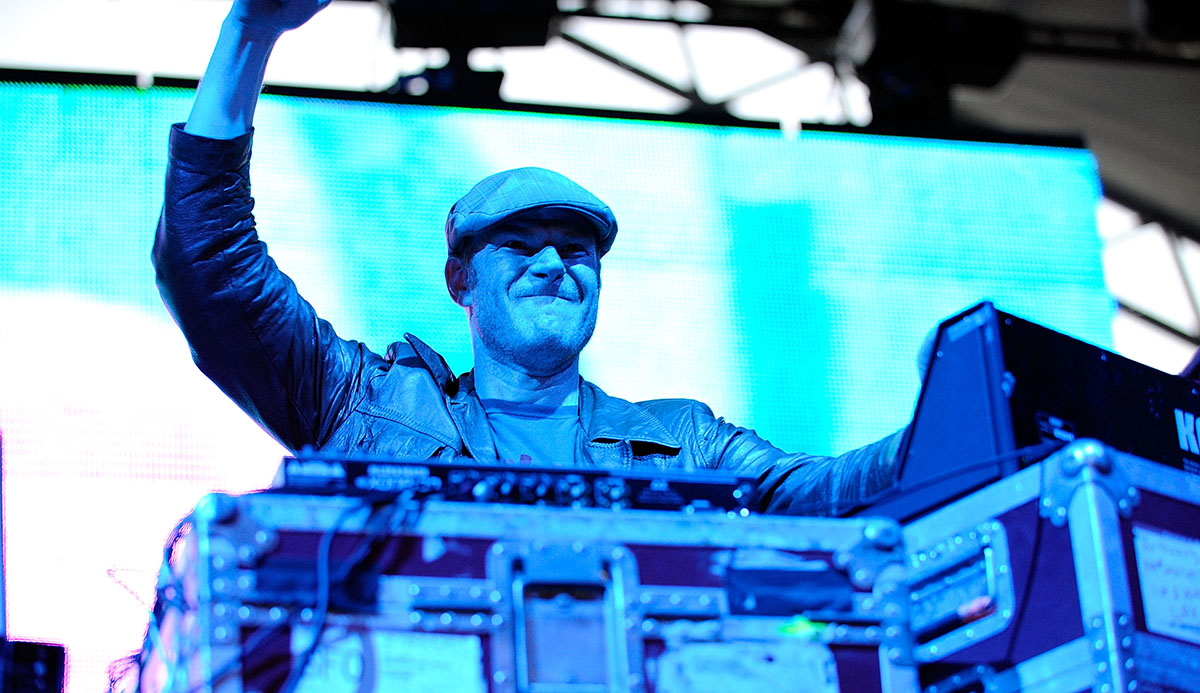 Junkie XL at Coachella in 2008.