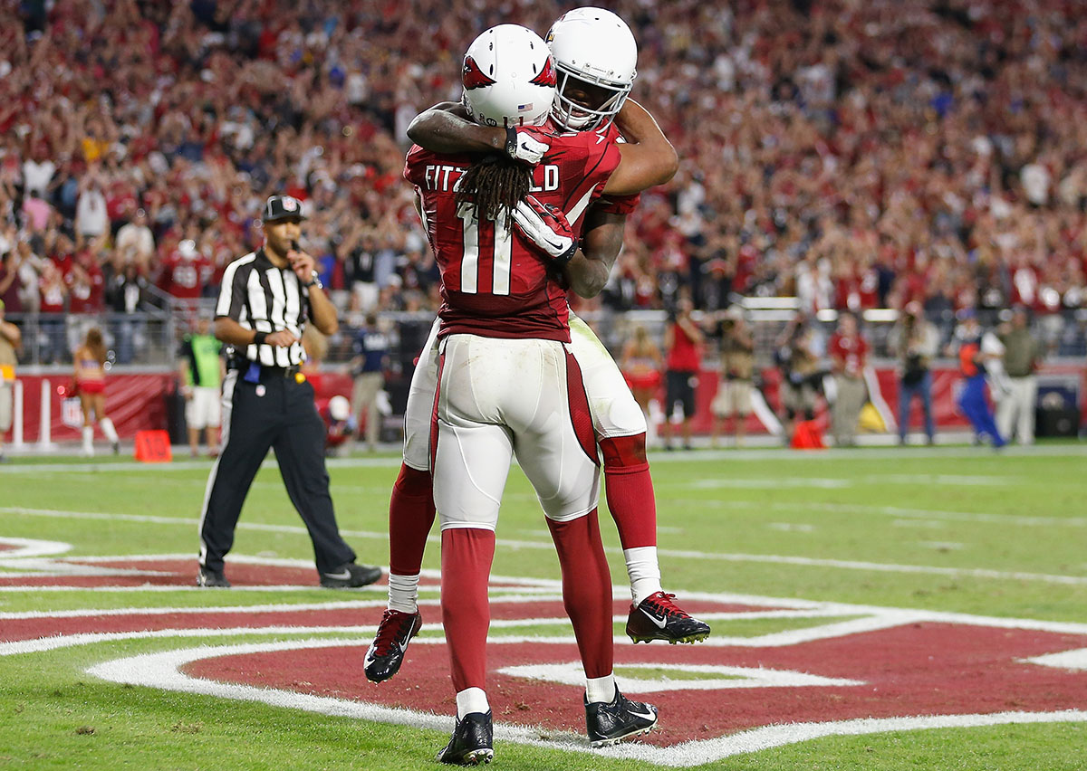John Brown and Larry Fitzgerald.