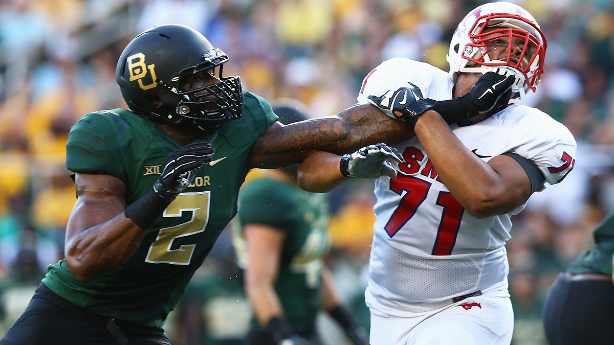 Shawn Oakman is a future pro; can the rest of Baylor's defenders keep pace?