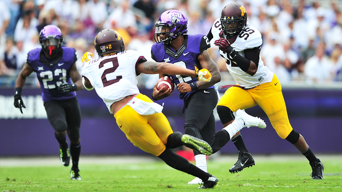 TCU's opening-week showdown with Minnesota is far from a gimme.