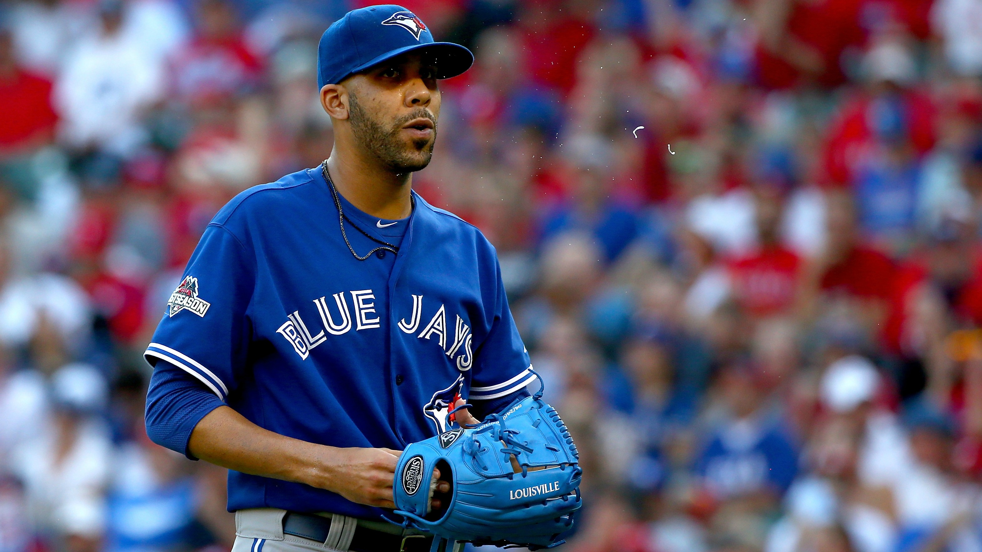 Toronto used David Price out of the bullpen in Game 4 of the ALDS, raising questions about the ace's status.