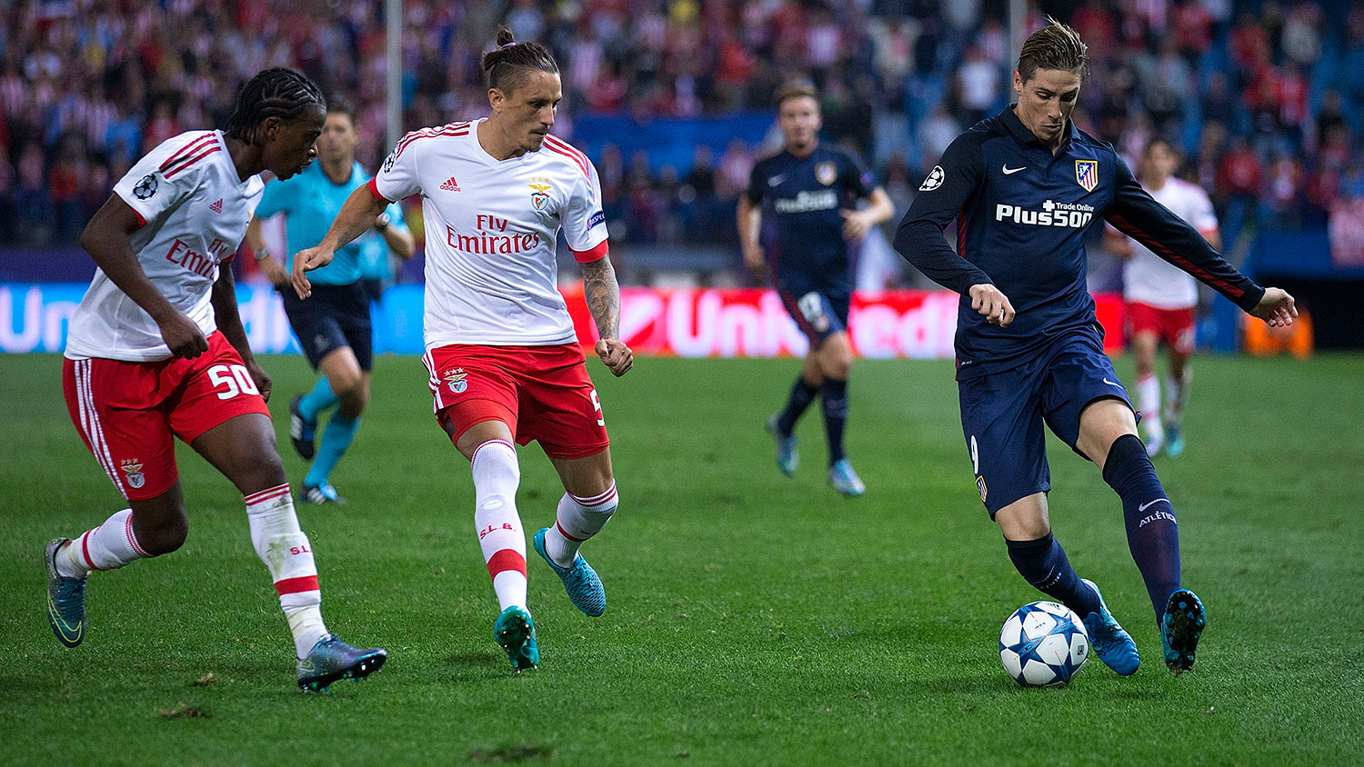 Fernando Torres, presumably about to trip over the ball.