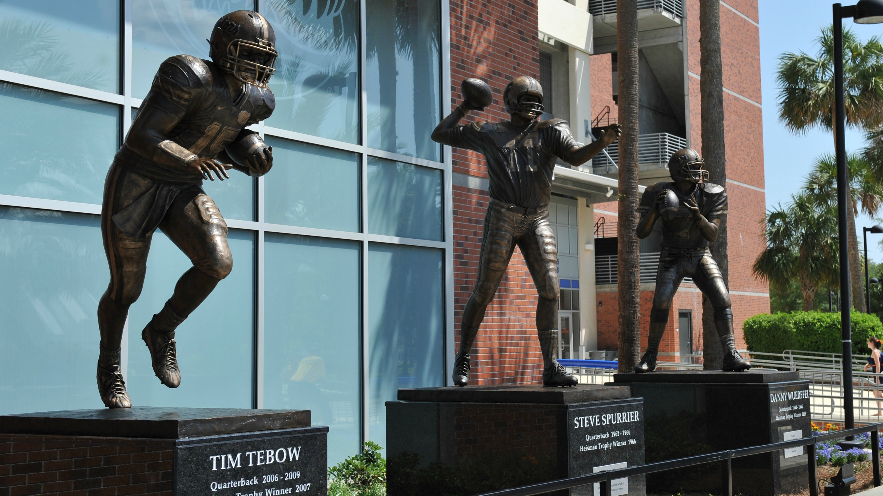 Steve Spurrier won the Heisman as a Florida player, then led UF to a title as head coach.