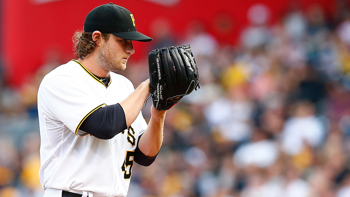 Pirates ace Gerrit Cole.