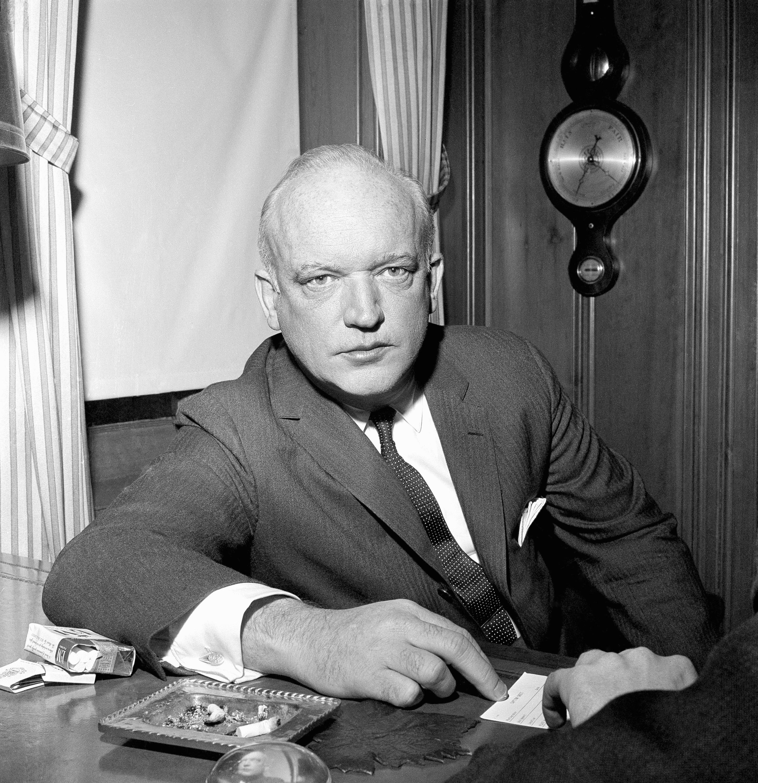 James B. Donovan, who negotiated the U.S.- Soviet prisoner swap, in 1962.