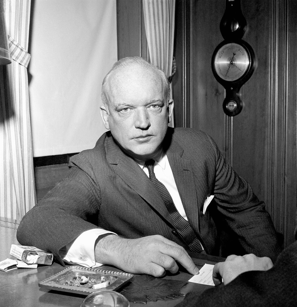 James B. Donovan, who negotiated the U.S.- Soviet prisoner swap, in 1962.