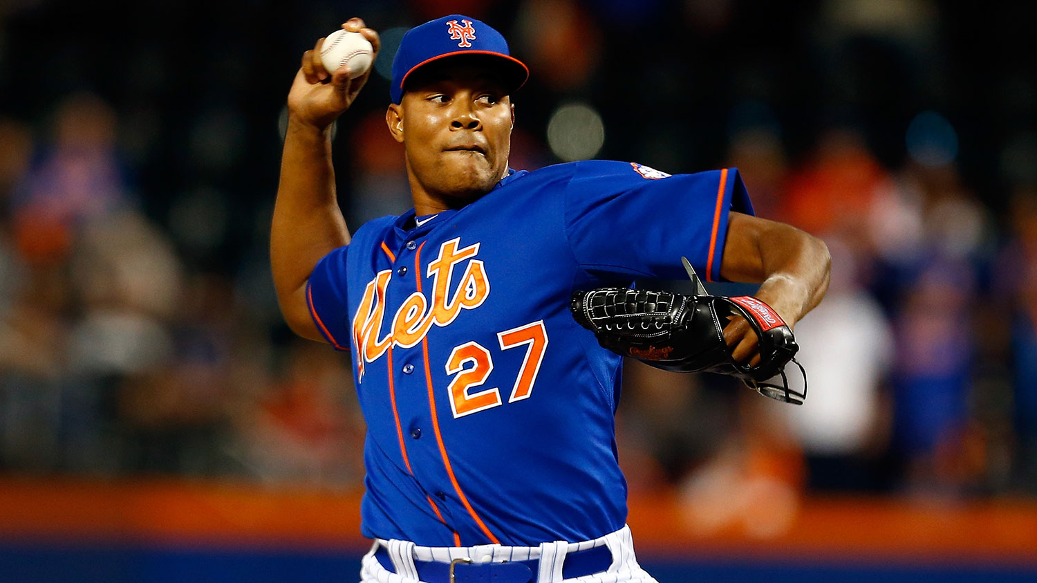 How long can Jeurys Familia go without allowing a baserunner?
