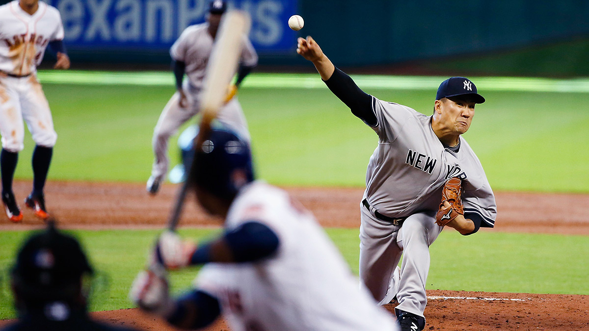 Masahiro Tanaka's worst start of the season came against Houston in June, when he allowed six runs.