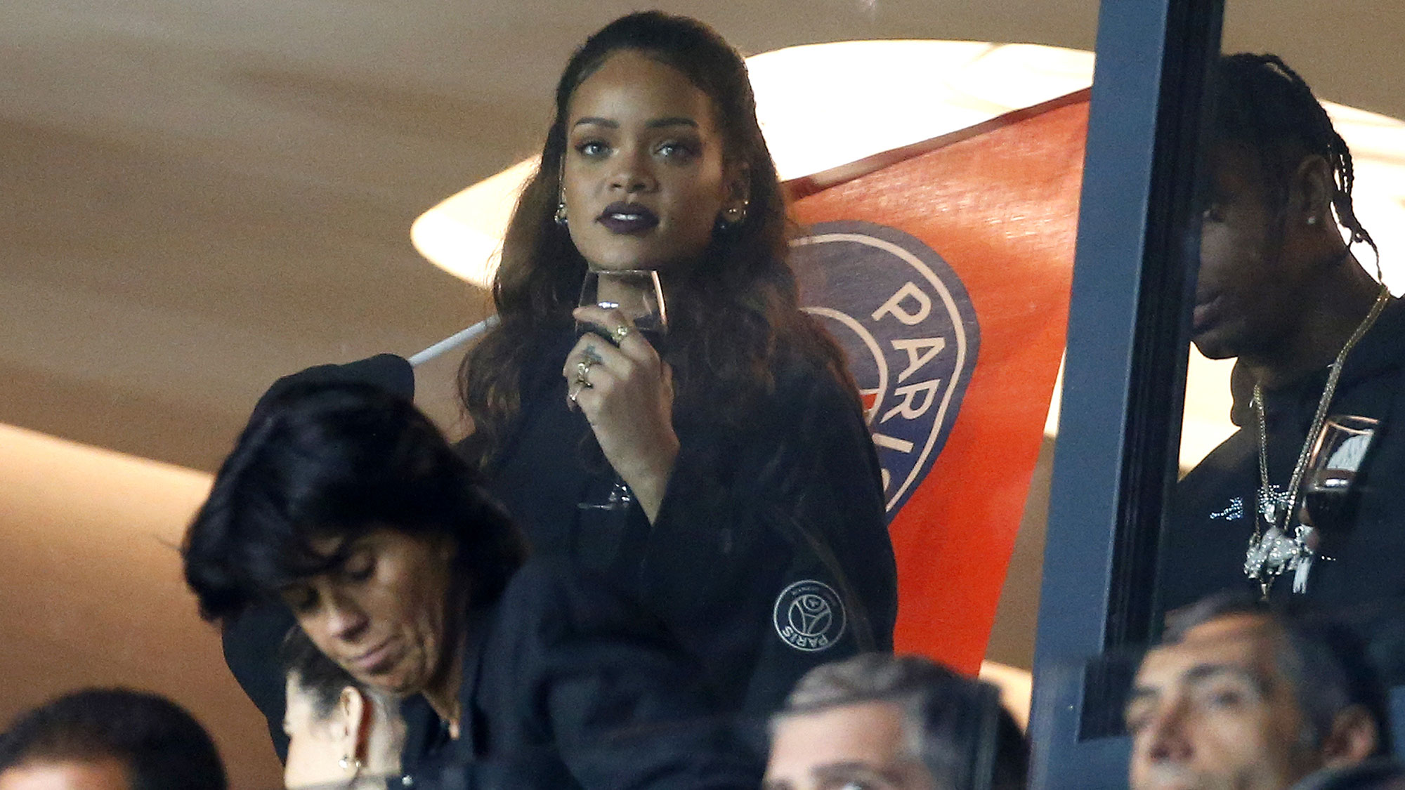 Yes, that is Rihanna.