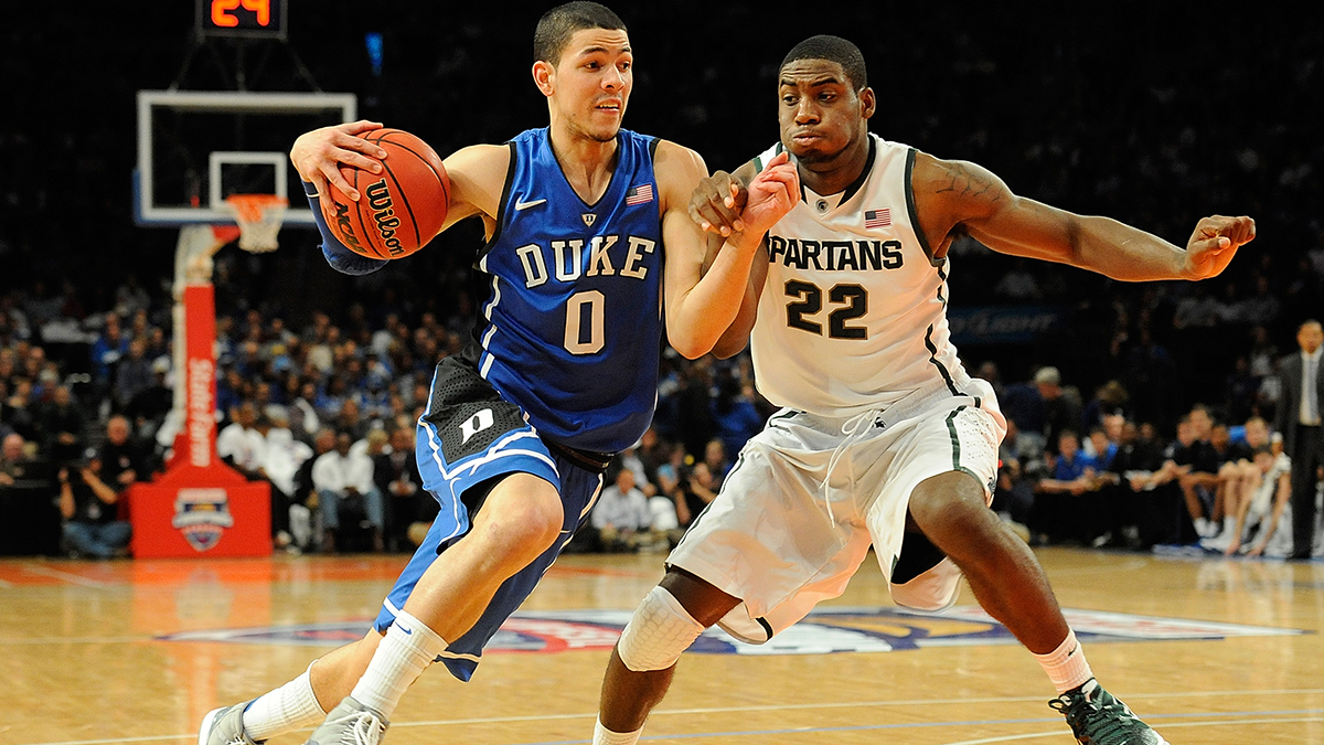 Austin Rivers in his lone college season at Duke.