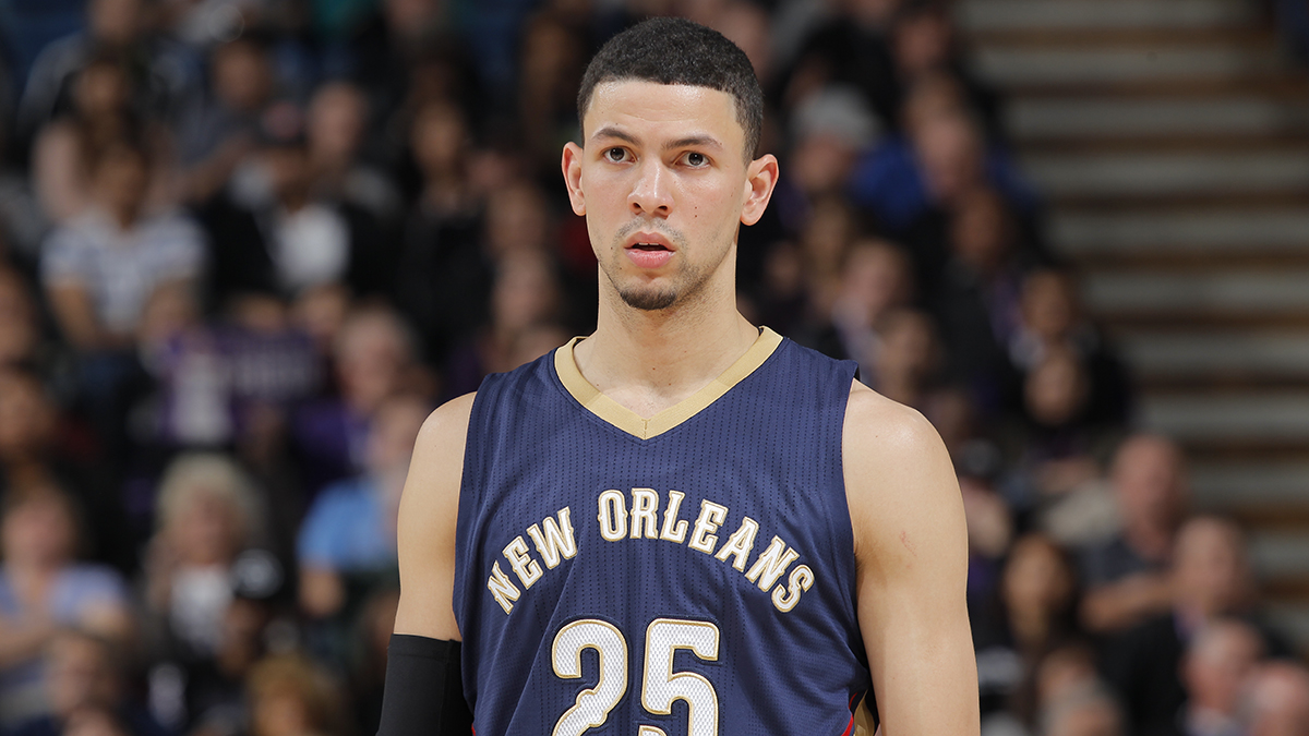 Austin in November 2014 with the New Orleans Pelicans.