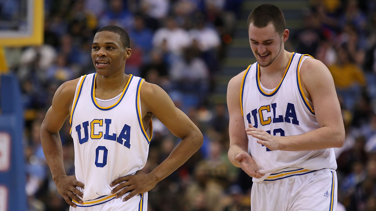 Westbrook and Love with UCLA in 2008.
